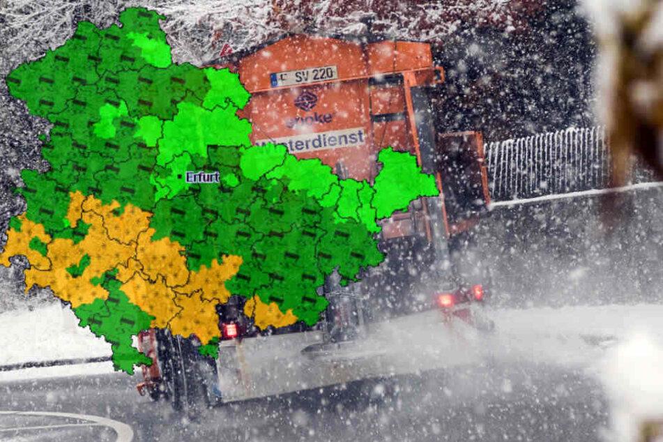 Ab Freitag soll auch Schnee im Flachland fallen.