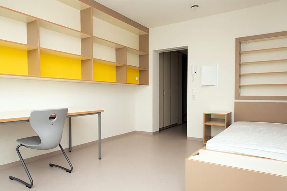 Für 325 Euro im Monat bekommen Studenten 25 Quadratmeter mit Kochnische und eigenem Bad.