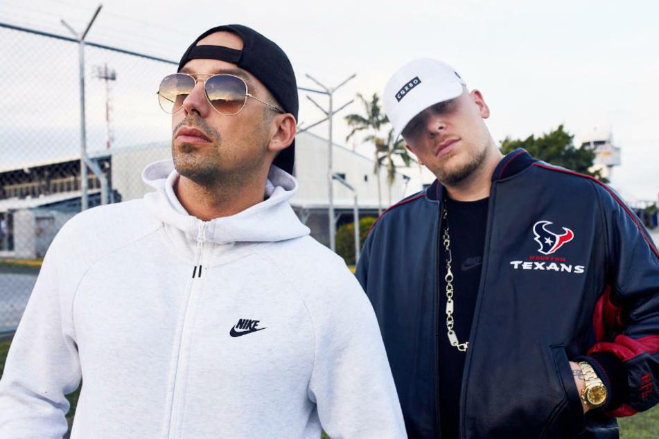 187 Strassenbande: Polizei stürmt Konzert von Bonez MC und RAF Camora und nimmt Rapper fest!