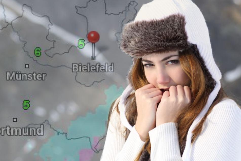Packt Euch warm ein! Schnee und eisiger Sturm am Wochenende