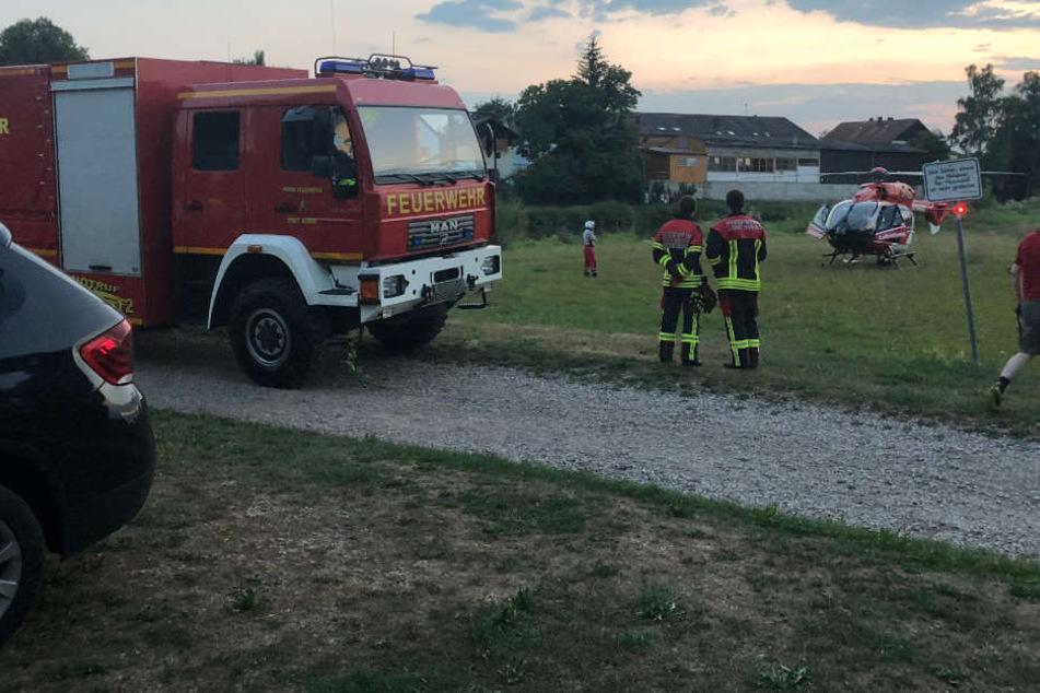 Im bayerischen Landkreis Cham ist am Dienstag eine Frau ertrunken.