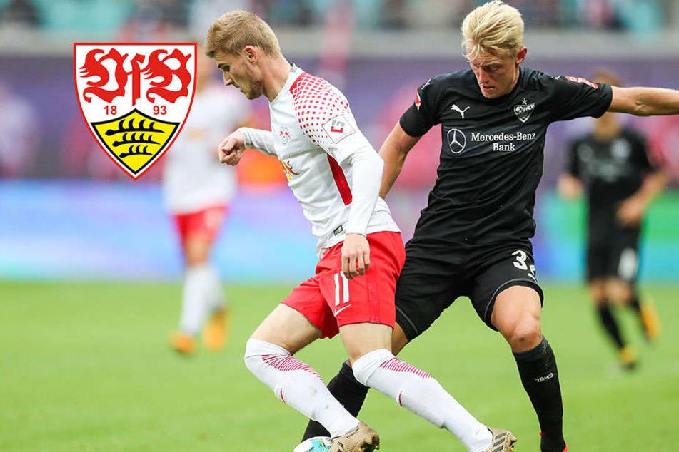 Auswärtsfluch geht weiter: Stuttgart auch in Leipzig sieglos