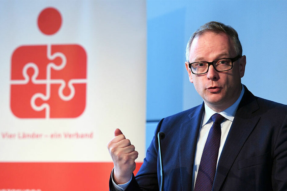 Der Präsident des Sparkassen- und Giroverbandes, Georg Fahrenschon.