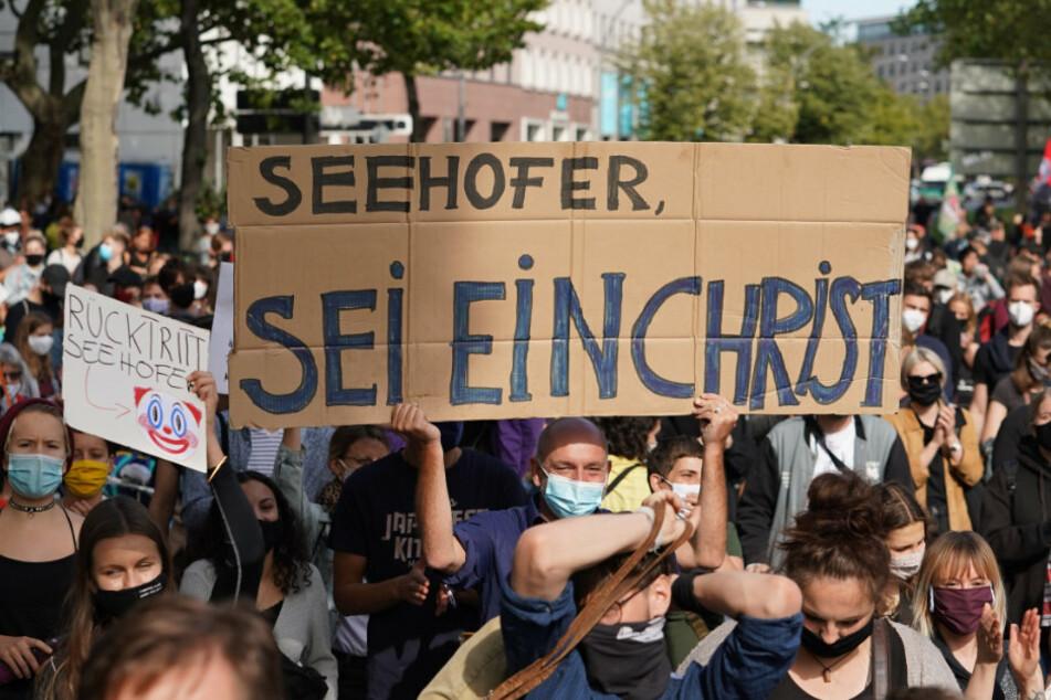 Berlin: Großdemo in Berlin zur Aufnahme von Moria-Flüchtlingen