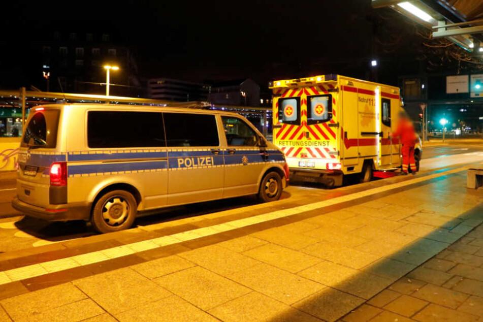 Blutige Schlägerei in Chemnitz: Mann von Jugendlichen verprügelt