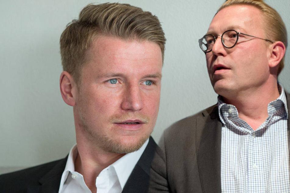 Maik Franz ist mit seiner Klage gegen Herthas Vize-Präsidenten Thorsten Manske gescheitert.