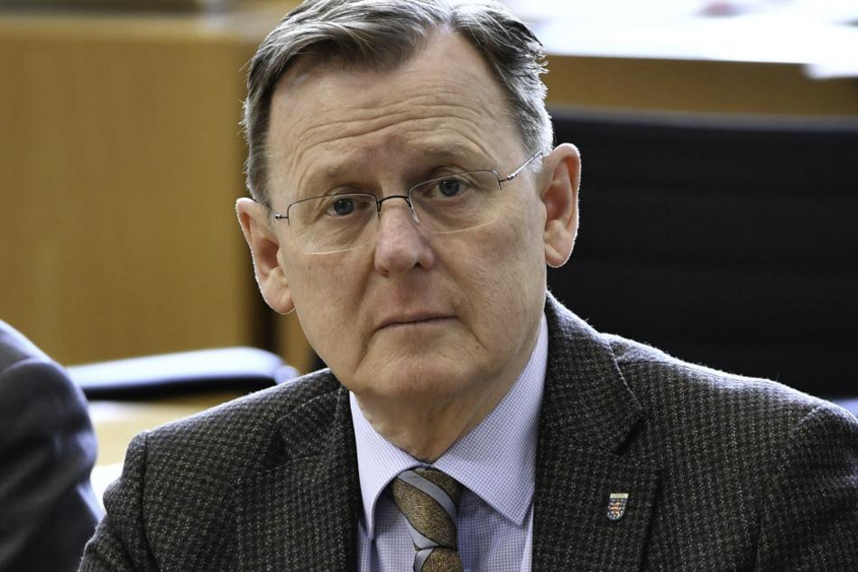 Bodo Ramelow (Die Linke), neu gewählter Ministerpräsident von Thüringen.