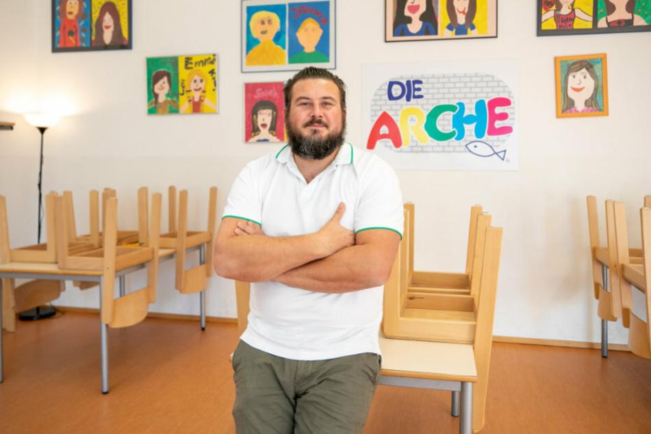 Marcel Bretschneider (37), Leiter der Arche.