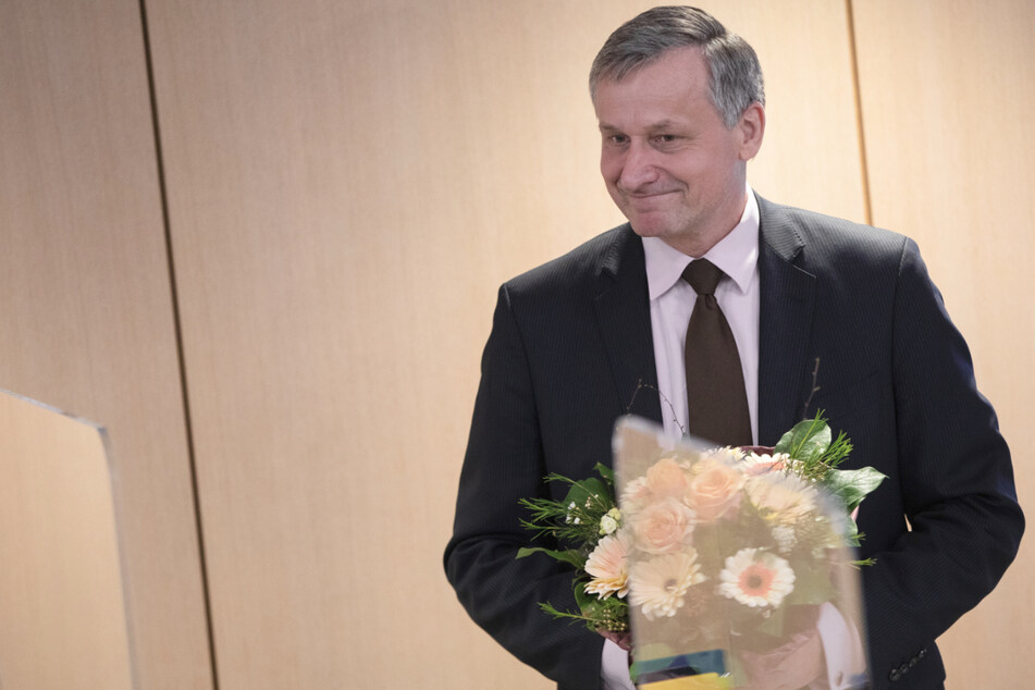 FDP-Fraktionschef Hans-Ulrich Rülke (59) strebte zusammen mit der SPD und den Grünen eine Ampel-Koalition an.