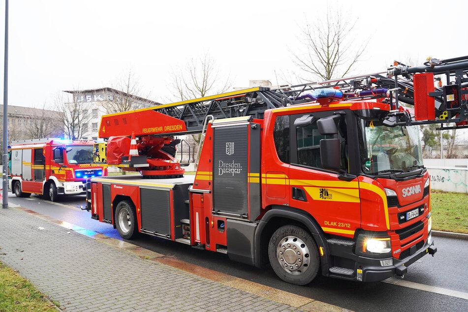 Die Feuerwehr rückte mit 38 Kameraden an. (Symbolbild)