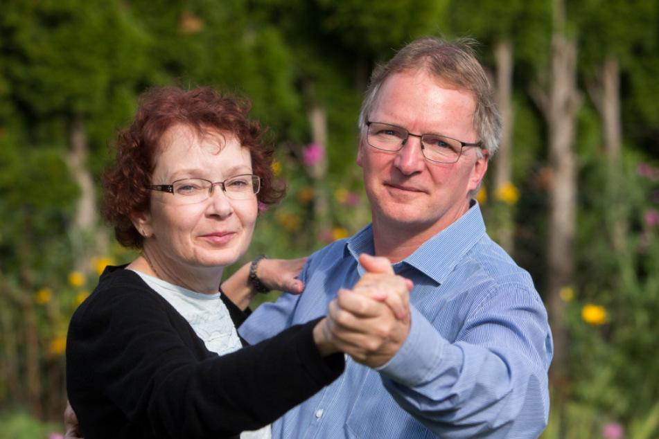 Katrin Schindler und Ehemann Dirk tanzen für ihr Leben gern.