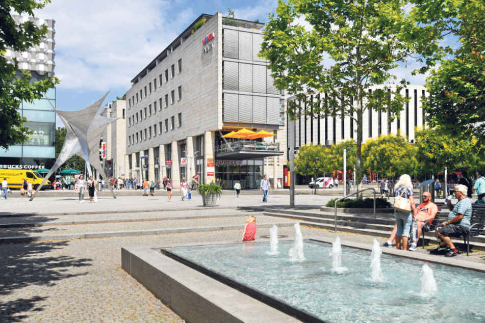 """Die """"Prager"""" ist eine der wichtigsten Einkaufsmeilen Deutschlands."""