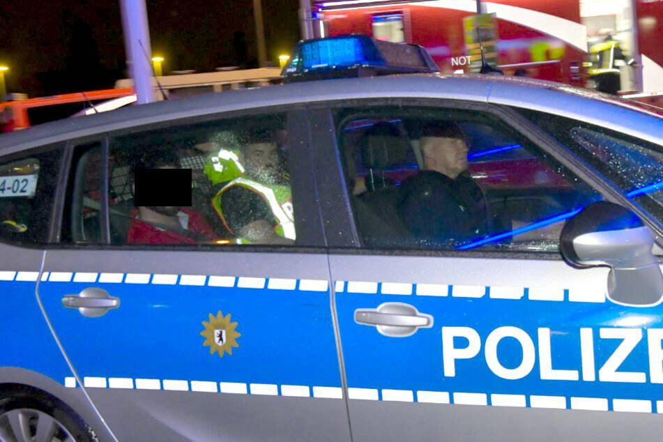 Der Fahrer wurde festgenommen.
