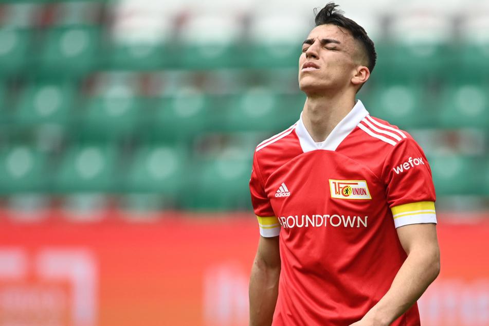 Union-Leihgabe Petar Musa blieb wie die meisten seiner Kollegen in Wolfsburg blass.