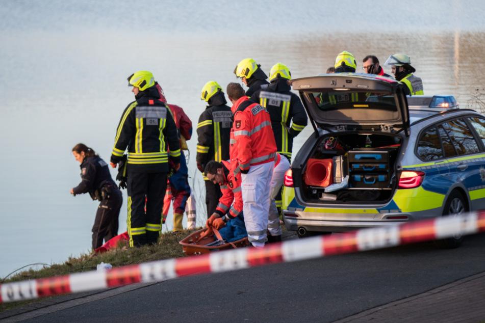 Die Rettungskräfte konnten die Frau nur noch tot bergen. (Symbolbild)