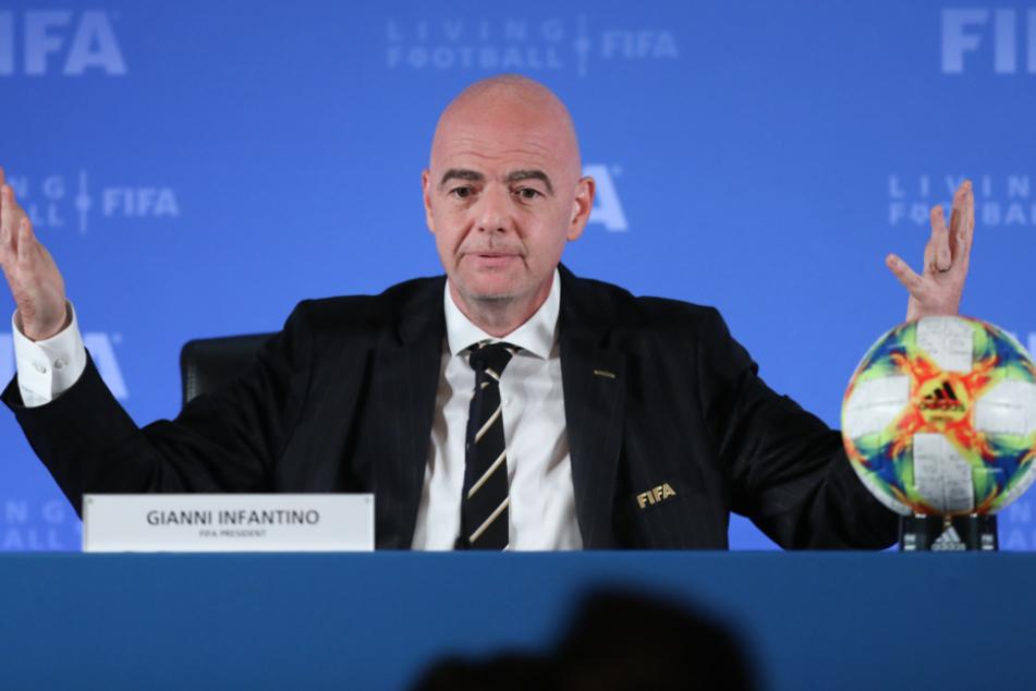 Fifa-Präsident Gianni Infantino (50).