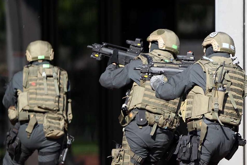Die GSG 9 ist die Spezialeinheit der Bundespolizei (Symbolbild)