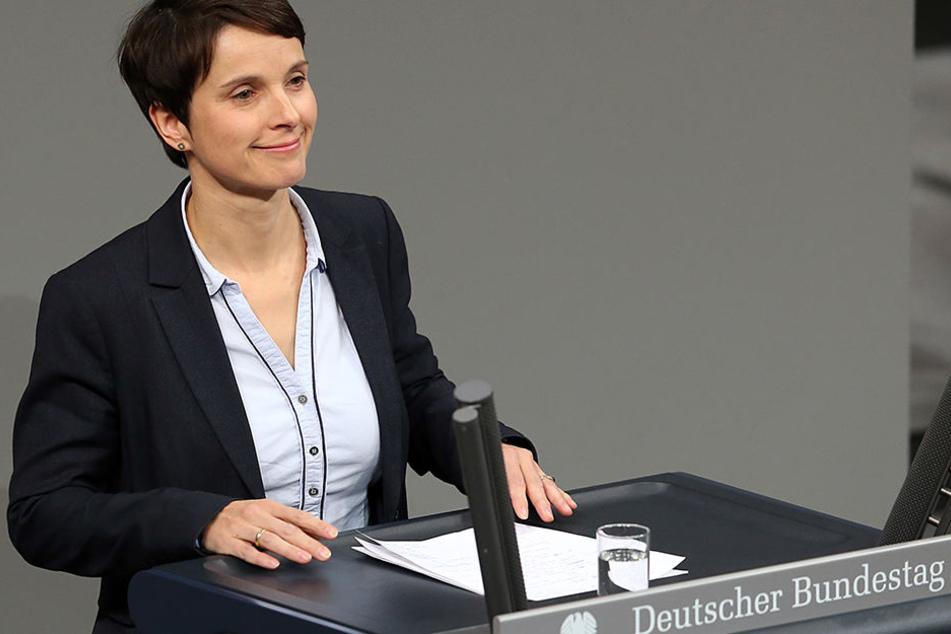 Ex-AfD-Chefin Frauke Petry genießt als Bundestagsabgeordnete derzeit noch Immunität vor Strafverfolgung.