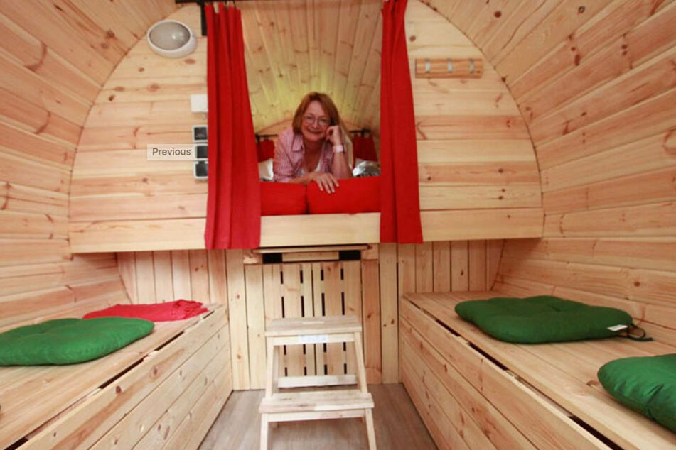 Ein echt ungewöhnlicher Schlafplatz: Ein Butterfass!