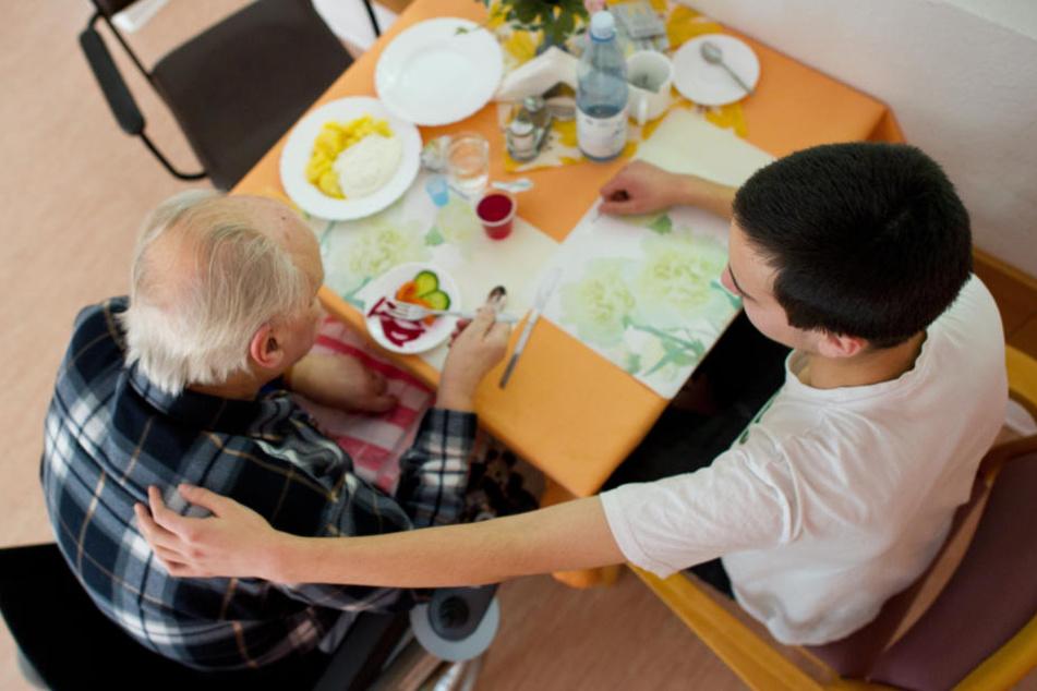 Beim Thüringenjahr können junge Menschen in einem sozialen Bereich arbeiten.