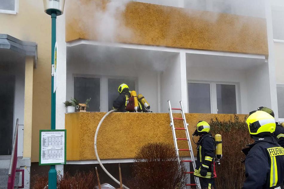 Was das Feuer ausgelöst hat ist noch unklar, die Ermittlungen laufen.