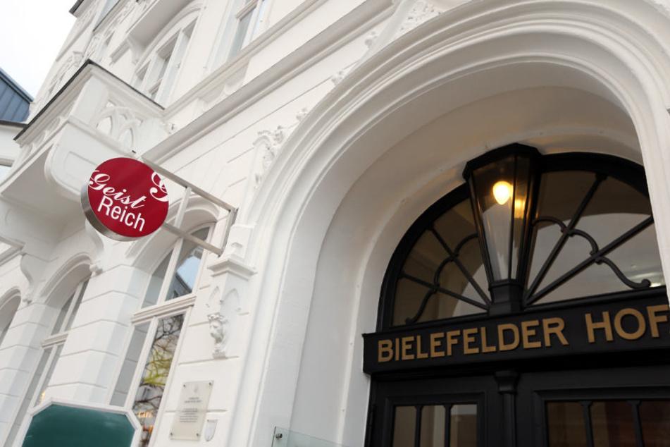 Hat nicht ganz so gut abgeschnitten: Das Geistreich im Hotel Bielefelder Hof.