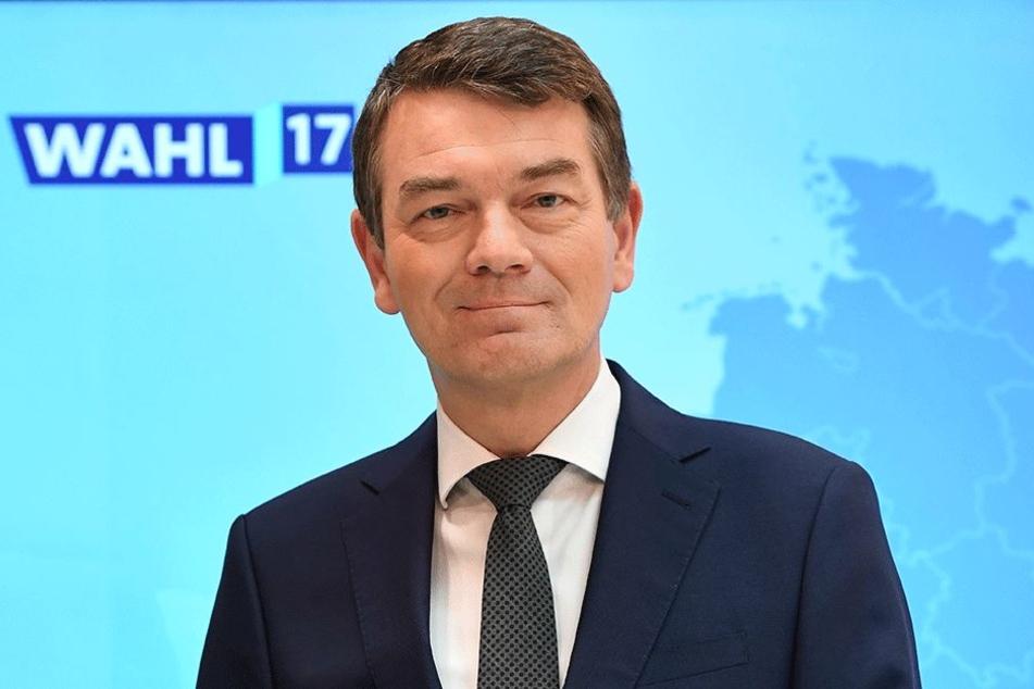 Am 14. Februar in Leubnitz: WDR-Fernsehdirektor Jörg Schönenborn (54).