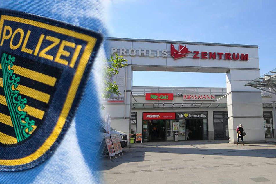 Weil er Passanten mit einer Waffe bedrohte: Polizei nimmt Mann in Dresden-Prohlis fest!