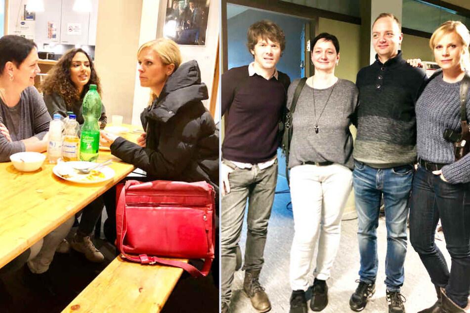 """Am Set von """"Soko Leipzig"""": Den Stars der Krimi-Serie ganz nah"""