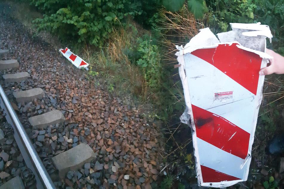 Zug brettert in Sachsen über Warnbake: Unglück nur knapp verhindert!