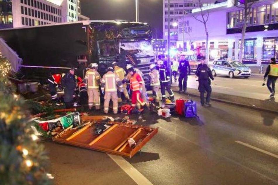 Der Lkw tötete mehrere Menschen, über 50 sollen verletzt sein.