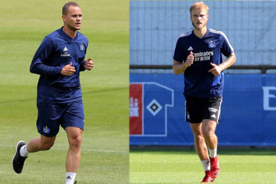 Ewerton (links) und Timo Letschert absolvierten bisher meist nur Rehamaßnahmen.