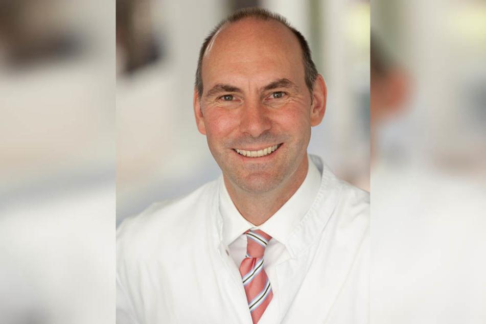 Prof. Dr. Florian Lordick, Leiter des Universitären Krebszentrums Leipzig (UCCL), spricht von großen Fortschritten in der Krebsforschung und immer höherer Überlebenschancen.