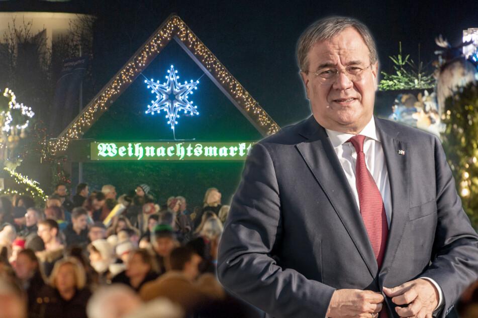 NRW-Ministerpräsident Armin Laschet (CDU) will Weihnachtsmärkte im Corona-Jahr 2020 nicht ausschließen.