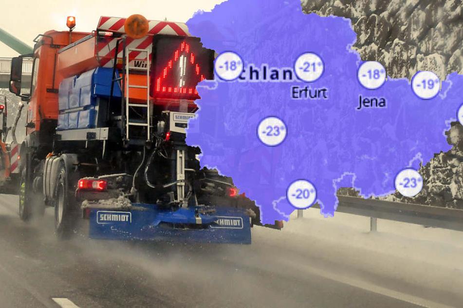 Bis Donnerstag wird es noch kälter in Thüringen.
