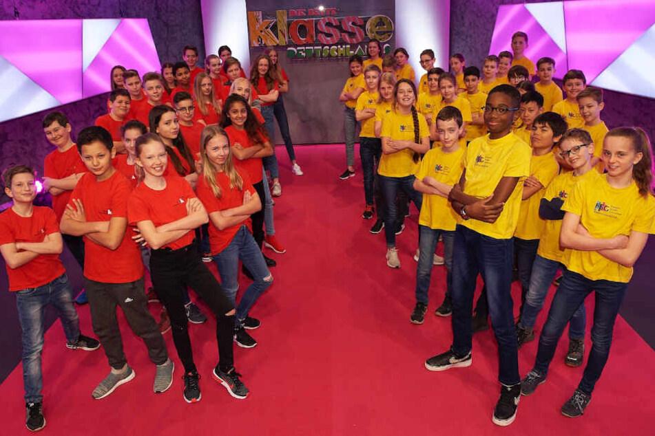 Am 13. Mai treten gegeneinander an die Klasse 6a vom musikalisch-sportlichen Gymnasium Leipzig (links) und die Klasse 6a vom Friedrich-Schiller-Gymnasium Marbach (rechts)