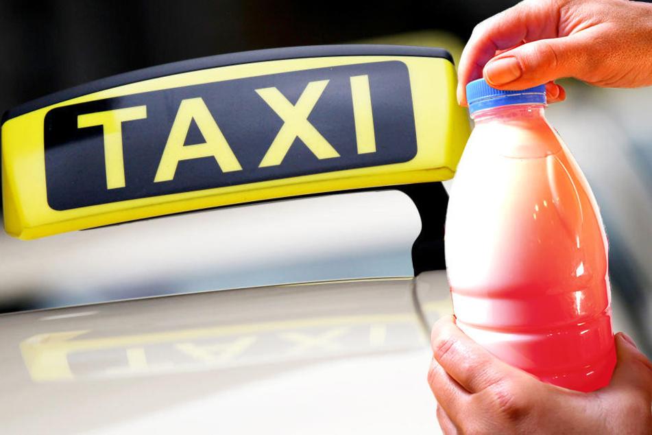 Für den Taxifahrer und seine Kollege war es eine unangenehme Nacht.