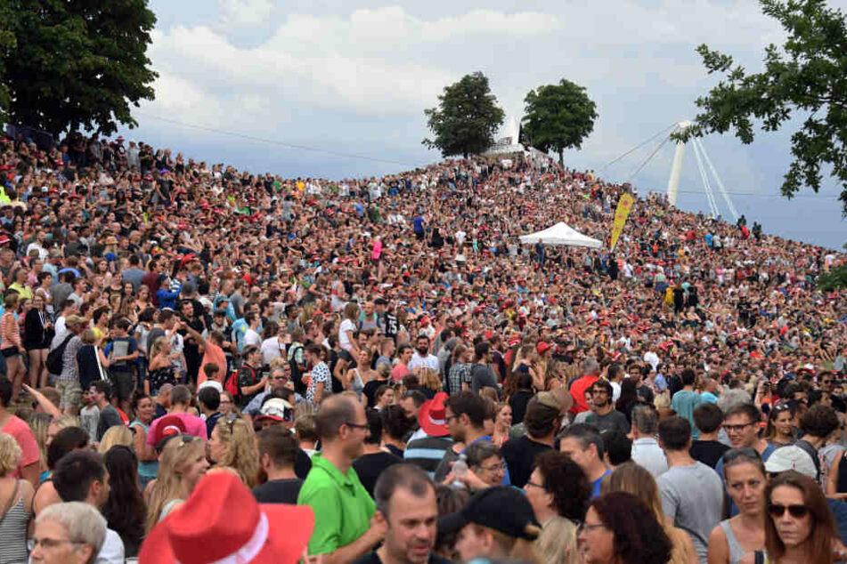 """Bis Sonntag treten beim """"Fest"""" rund 1000 Künstler auf. (Archivbild)"""