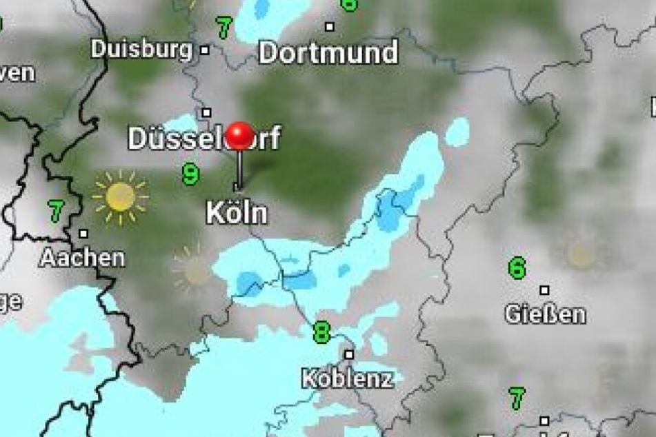 Laut Wetter Online wird es an Weiberfastnacht in Köln unbeständig.