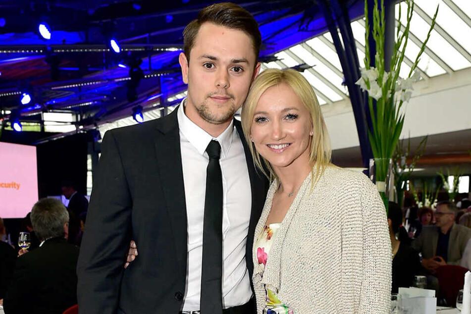 Aljona Savchenko und ihr Mann Liam Cross bei der Verleihung des Sport-Chemmy in Chemnitz.