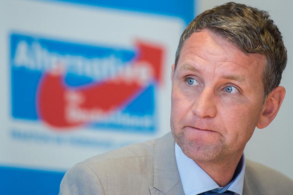 Björn Höcke (45, AfD) wollte sich nicht zu Brönners Vorwürfen äußern.