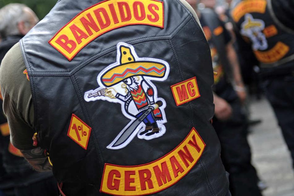 Eine Kutte eines Bandidos-Rockers.