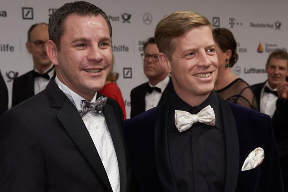 Sven Gerich (links) mit seinem Partner Helge.