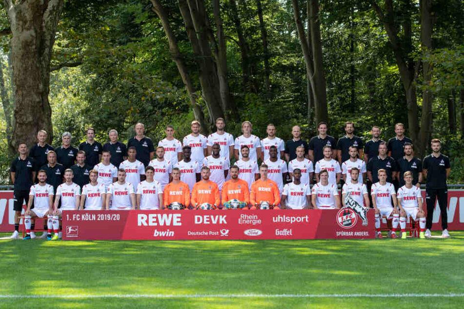Die Mannschaft des 1. FC Köln für die Saison 2019/20.