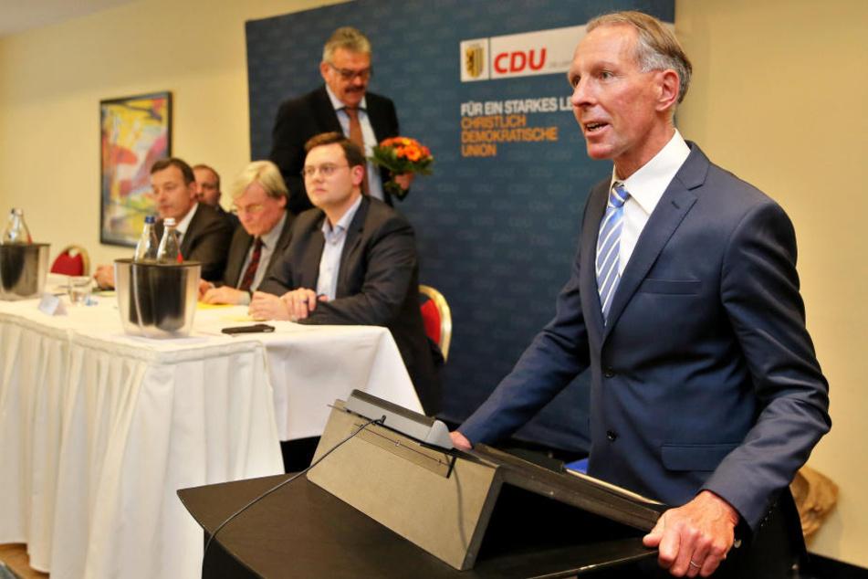 Jens Lehmann (r., 48) kandidiert für die CDU im Wahlkreis Leipzig I.