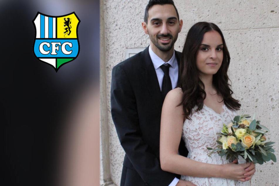 CFC-Mittelfeldmann Garcia heiratet in der Weihnachtspause