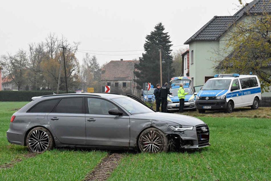 Geschnappter Autodieb in Ostsachsen: Insgesamt wurden weniger Autos geklaut, aber nicht überall.