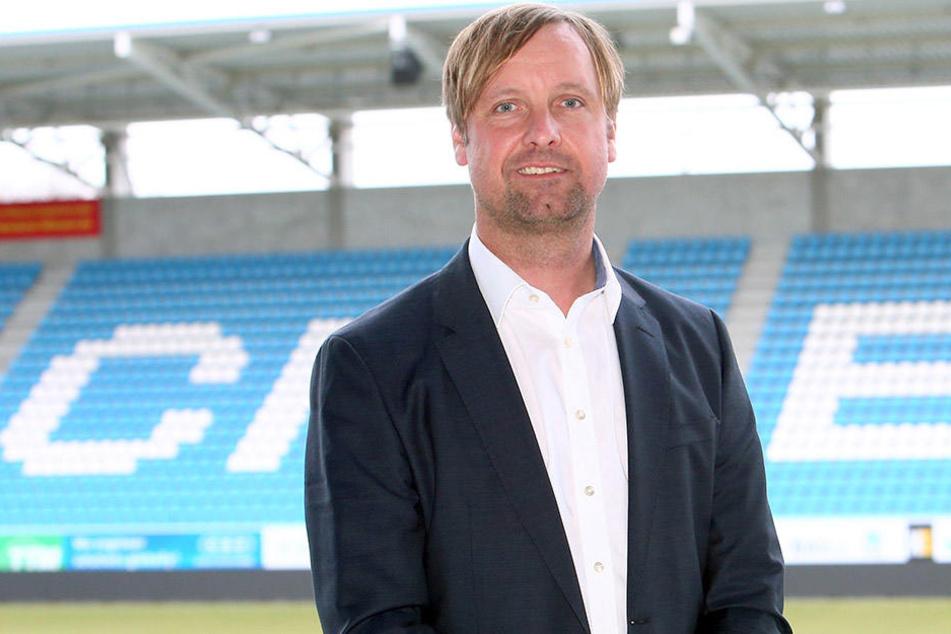 Stefan Bohne soll den CFC als Chefsanierer wieder flottmachen. Auch wenn es aus der Fanszene gegen den Ex-Dynamo Vorbehalte gibt.