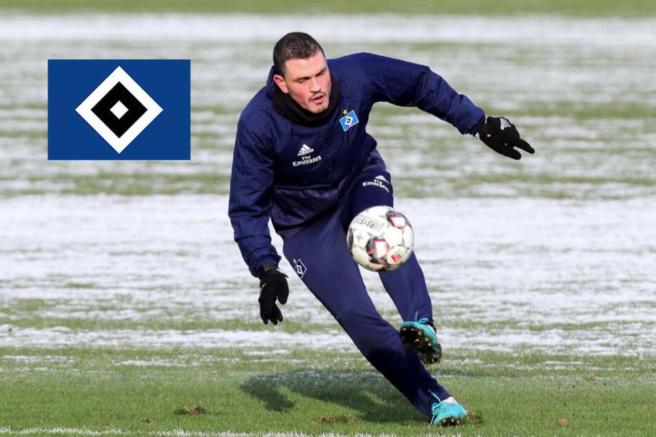 HSV-Kante Papadopoulos schuftet für sein Comeback