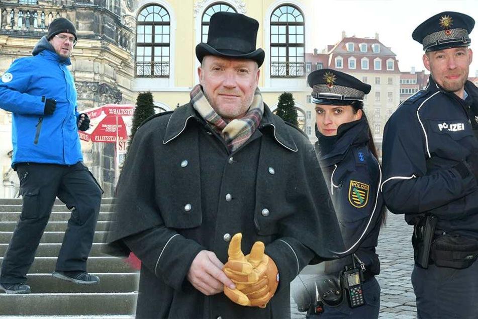 Dresden: Sie machen Dresdens Bibber-Jobs: Und so trotzen sie der Kälte